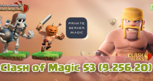 Сервер Clash of Magic S3 (9.256.20)